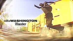 Nika Washington Thunder Trucks