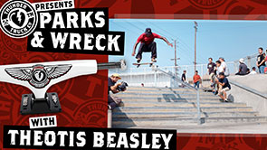 Thunder Parks & Wreck with Theotis Beasley