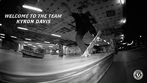 Kyron Davis Welcome to the Team