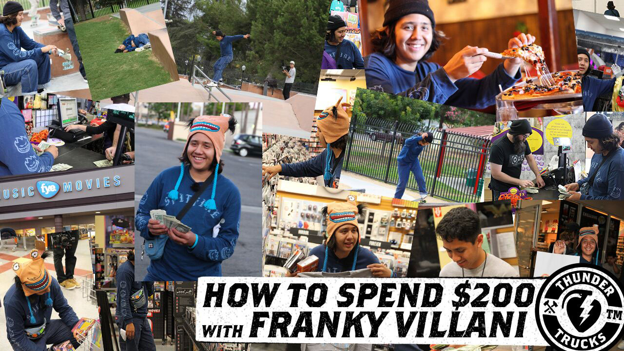How to spend $200 with Franky Villani!