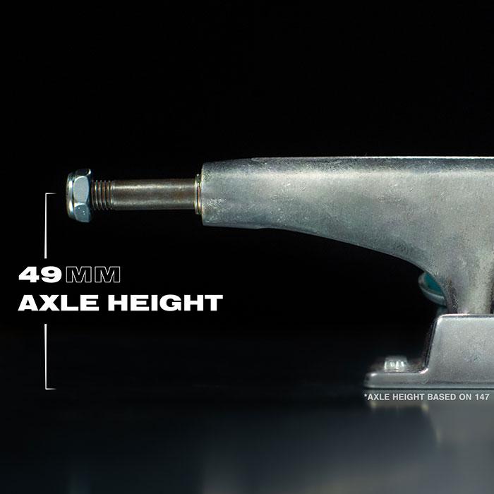 49mm axle height.