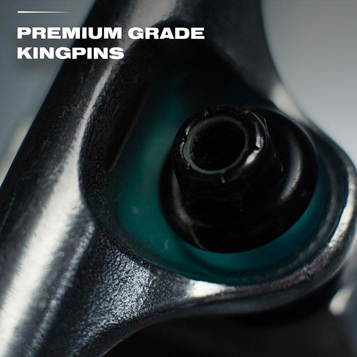 Premium grade kingpins.