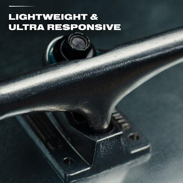 Lightweight & ultra responsive.