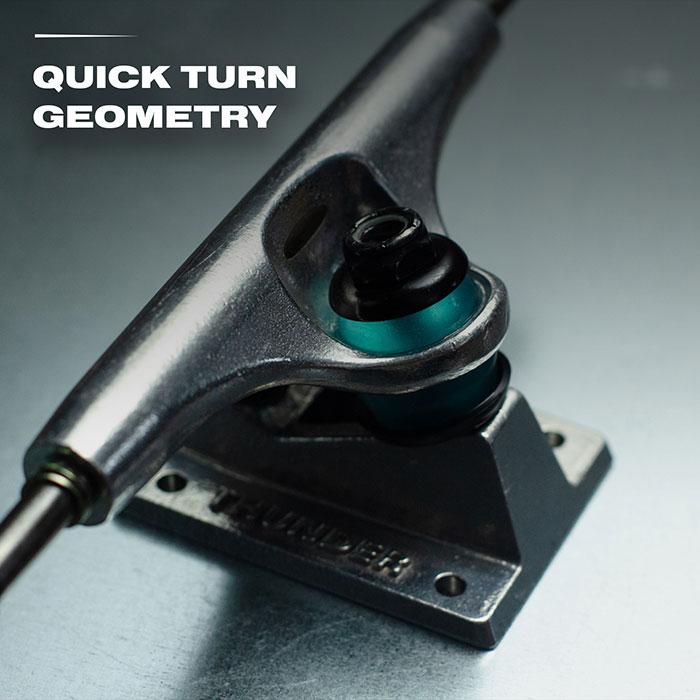 Quick turn geometry.